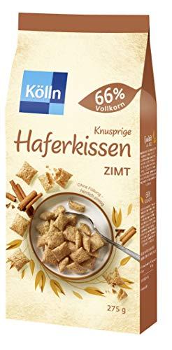 Kölln Knusprige Haferkissen Zimt, 6er Pack (6 x 280 g)