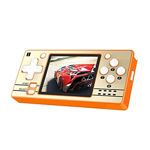 YANXU Consola de juegos portátil para niños y adultos con sistema de código abierto retro, gratis con 2000 consola de videojuegos portátil de 3,5 pulgadas IPS pantalla