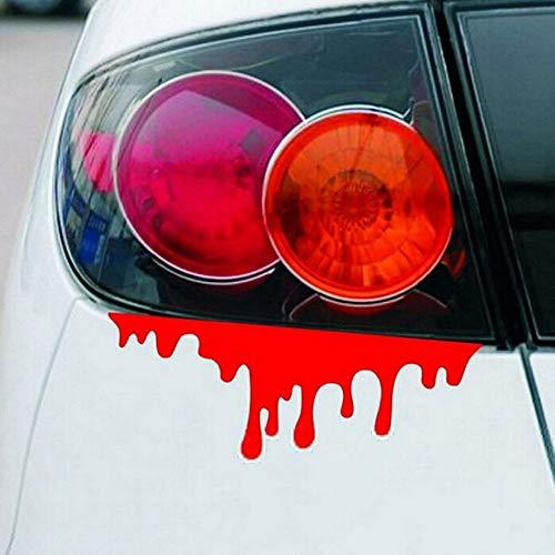 Autoaufkleber Lustige Halloween Auto Wand Home Blut Aufkleber Wandbild Dekor Aufkleber Removable Terror Aufkleber FüR Auto Autosticker Autoaufkleber Tattoo Graffiti Sticker 3D Heckscheibenaufkleber