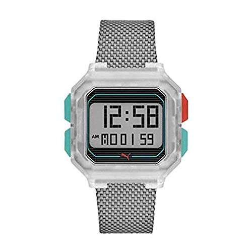 Puma Reloj Digital para Mujer de Cuarzo con Correa en...
