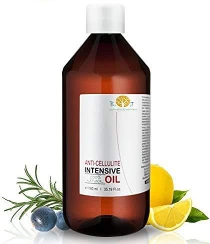 Aceite Anti Celulitis 500 ml Con Aceites Esenciales Triple