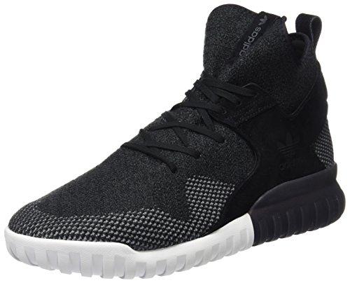 adidas Herren Tubular X Primeknit Sneakers Schwarz (C Black/Dk Grey/Chsogr) 48 2/3 EU
