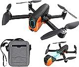 rzoizwko Drone, 3 km Drone con 6k Ultra HD Pixel Camera GPS 5G WiFi Motor sin escobillas FPV VR Drones Flying 33 Minutes RC Quadcopter, 3Battery
