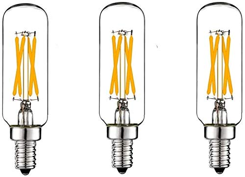 12V 24V 36V Vintage Edison Light Bulbs Low Voltage E14 Glühlampe T8 / T25 Sockel, 4W Edison LED 2700k warmweiß Glühlampe mit 40 Watt Äquivalent Marine Boat Solar Retro Edison Battery Lighting,3 pack