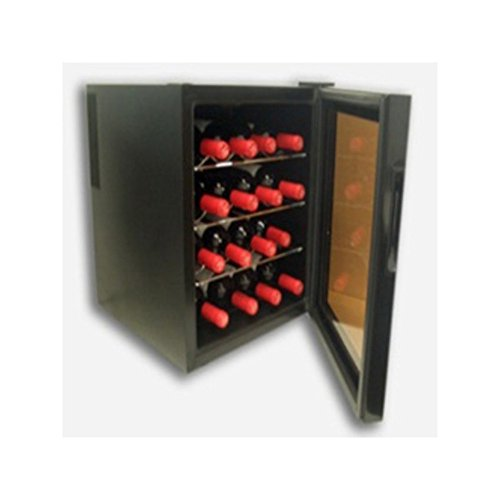 Cavanov - Vinoteca Cv016, 16 Botellas, 52X43,5X47Cm, Control Temp 10/18ºc, Display Digital Electronico, Luz Fria Interior, Humedad Controlada, Sin Vibraciones.