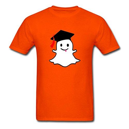Snapchat School Custom Graduate KingDeng Latest Offers Herren T-Shirt Small