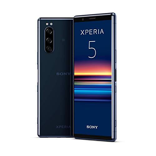 """Sony Xperia 5, 6.1"""" FHD+ HDR OLED 21:9 Display, 6GB RAM, 128GB Speicher, Blau [Exklusiv bei Amazon]"""