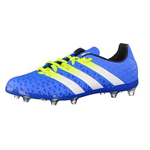 adidas Ace 16.1 FG AG J, Botas de fútbol Hombre, Azul (Blue), 38.5 EU