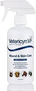 Vetericyn VF Plus All Animal Wound & Skin Care Liquid - 16 fl. oz (473 ml) by V