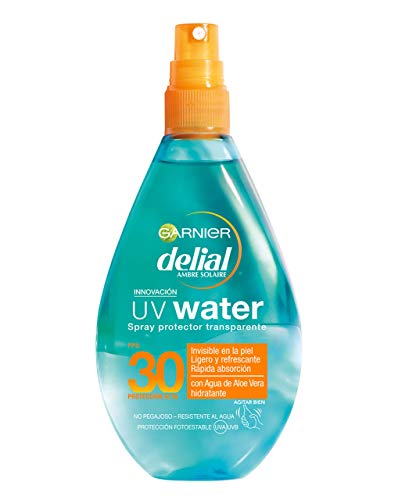 Garnier Delial UV Water Spray Protector Solar Transparente,