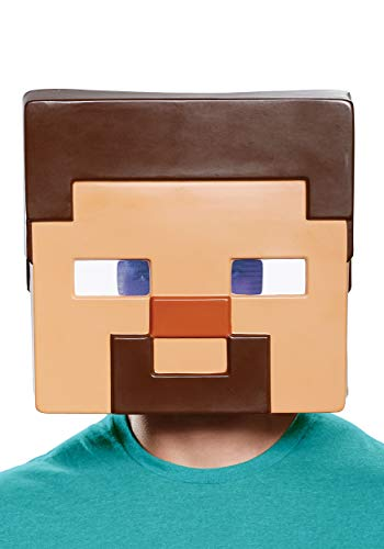 Minecraft Steve Adult Half Mask Brown