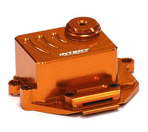 Integy RC Model Hop-ups T3431ORANGE Alloy Receiver Box for 1/16 Traxxas E-Revo VXL,Slash VXL,Summit VXL,Rally