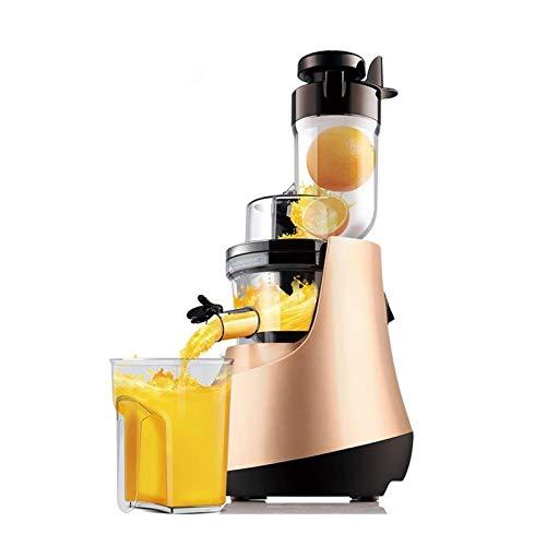 Adesign Máquinas de exprimidor, Fruta Entera y verdura fácil de Limpiar, Mayor Rendimiento de Jugo, BPA Free, a Domicilio multifunción automática Fruta exprimida