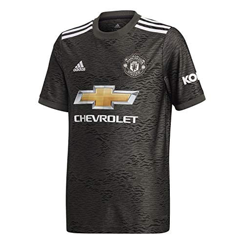 adidas EE2397 Camiseta con Manga Corta para Niños Manchester United Away, Verleg/Negro,...