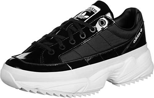 adidas KIELLOR W, Zapatillas de Running Mujer, Core Black Core Black Purple Tint, 39 1/3 EU