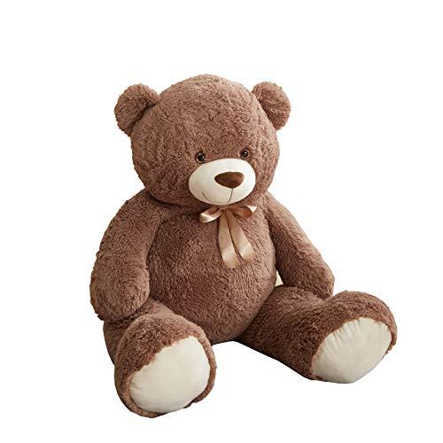 Cuddly Crew Jumbo Life Size Plush Teddy Bear Stuffed Animal, 53' L