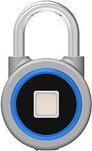 Vingerafdruk hangslot, Bluetooth Lock, APP, IP65 waterdicht, hangslot met sleutelloze biometrische geschikt voor gym, spor...