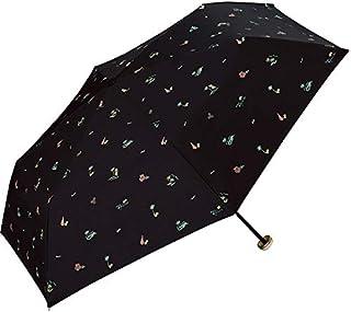 ワールドパーティー(Wpc.) 日傘 折りたたみ傘 黒 50cm レディース ポーチタイプ 遮光ハワイミニ 801-4927 BK