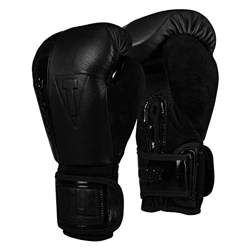 Title Black Blast Heavy Bag Gloves, Black, 14 oz