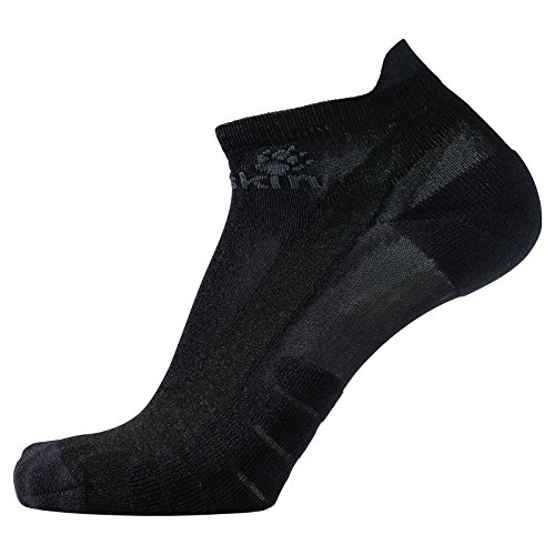 Jack Wolfskin Unisex Cross Trail Inside Cut Chaussettes Socken, (Black), (Herstellergröße: 47-49)