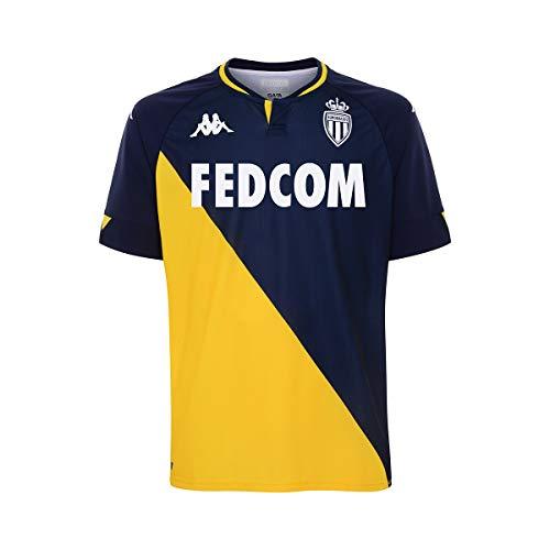 Kappa AS Monaco Trikot Away 2020/2021 Blau FA02