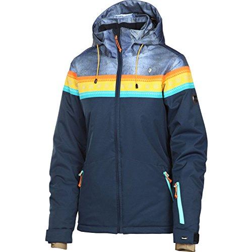 Rehall Damen Skijacke Daisey-R dunkel blau/bunt - XL