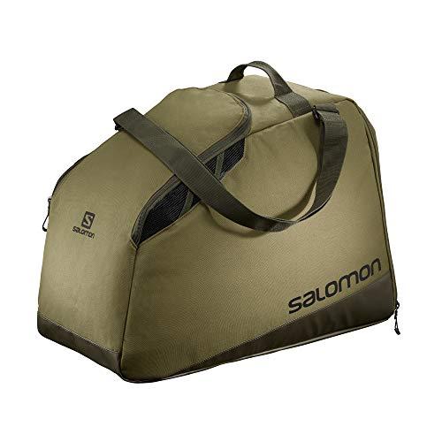 Salomon Bolsa para botas de esquí, Unisex, EXTEND MAX GEARBAG, Apta para 1 bar de botas y otros accesorios, Verde (Martini Olive), LC1415100