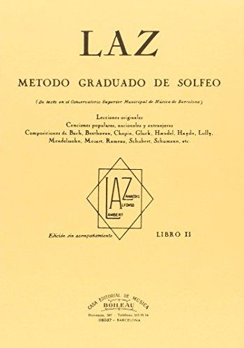 Laz - Libro II: Método graduado de Solfeo