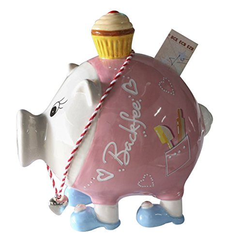 Casablanca Sparschwein Backfee Törtchen+Kette