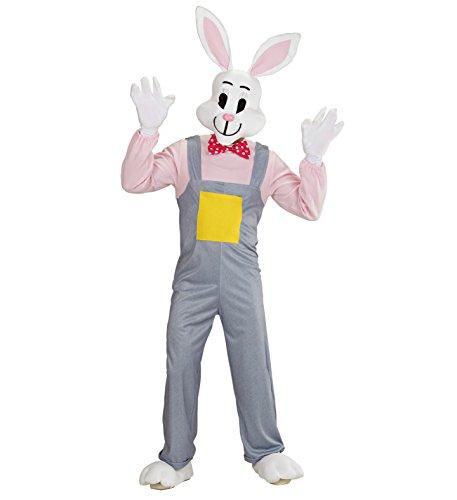Panelize Hase Osterhase Hasenkostüm Rabbit Bunny Kostüm Hände Füße Maske Erwachsene (Large)