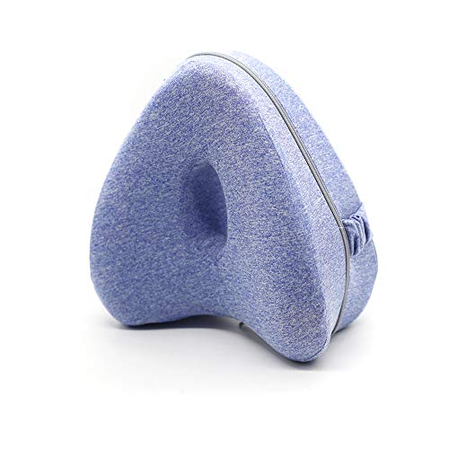 Kniekissen Ergonomisches Memory Foam Beinkissen Leg Pillow Orthopädisches Beinkissen Knie-Kissen für Seitenschläfer Memory Foam Kissen für Bein, Knie, Rücken Und Schwangerschaft (TYPE B)