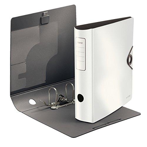 Leitz 10471020 Qualitäts-Ordner 180° Active Solid, breit (A4, Weiß, 1)