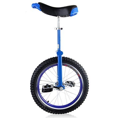 Competición Unicycle Balance robusto de 20 pulgadas Unicycles para principiantes / adolescentes, con rueda de neumático de butilo a prueba de butilo Ciclismo Deportes al aire libre Ejercicio de ejerci