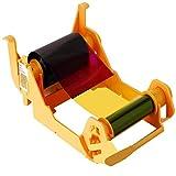 Cinta de color YMCKOK 800033-848 compatible con impresoras de tarjetas Zebra ZXP Series 3 ZXP3 de cara Dounble-Side 165 impresiones compatible 800033-848