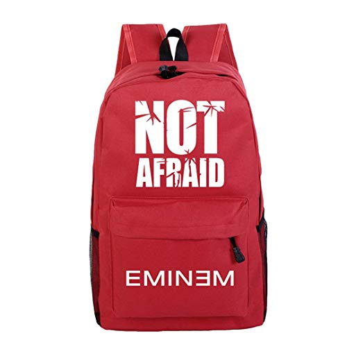 Mcvrv EminemMochila de Estudiante Mochila de Ocio Mochila de Ordenador Mochila de Viaje de Senderismo Mochila Escolar,13