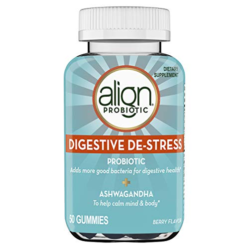 Align Probiotic, Digestive De-stress, Probiotic with Ashwagandha, which Helps with a natural and...