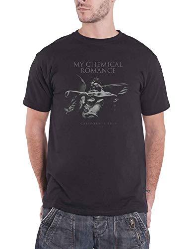 My Chemical Romance T-Shirt Angel da Uomo in Nero