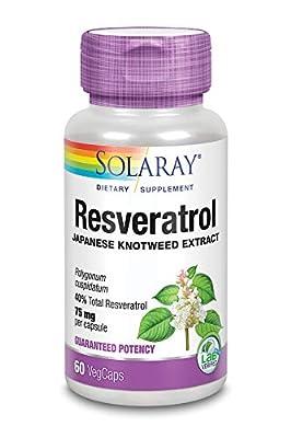 Solaray Resveratrol Triple Strength Capsule - Pack of 60