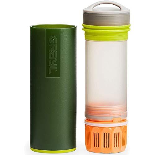 GRAYL Purificador de agua ultraligero - COMIN18JU054105, 16 oz (473 ml), Verde