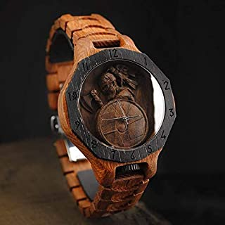 Viking Wooden Watch Personalized Watch FREE SHIPPING engraving and customization