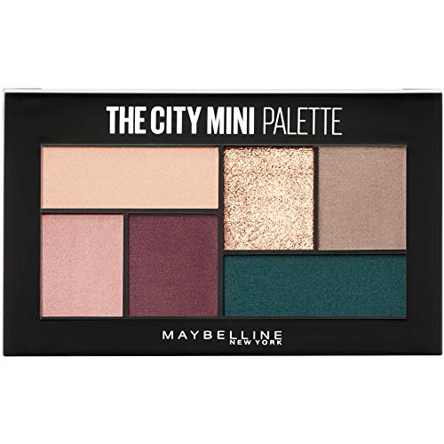 Maybelline The City Mini Eyeshadow Palette Makeup, Diamond District, 0.14 Oz