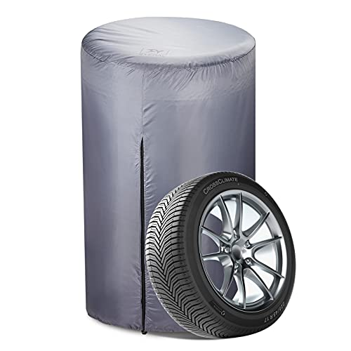 SYERAL Spare Tire Storage Cover Seasonal Tire Storage Bag,420D Oxford Silver Coating Waterproof...