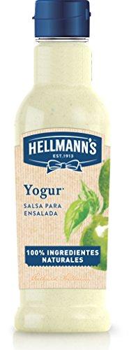 Hellmann's Salsa para Ensaladas Yogur - Paquete de 8 x 210 ml: Total: 1680 ml