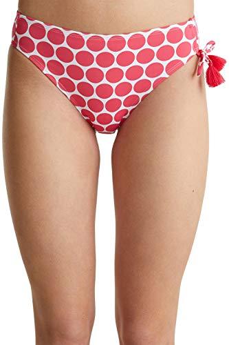 ESPRIT Damen Gleason Beach Classic Brief Bikini-Unterteile, Rot, 38