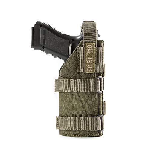 OneTigris Minimalist Pistol Holster for 1911 45 92 96 Glock (Green)
