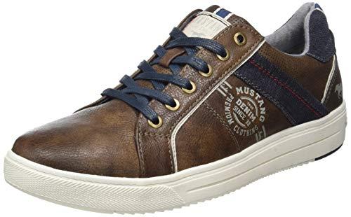 MUSTANG Herren 4133-304-32 Sneaker, Braun (Dunkelbraun 32), 42 EU