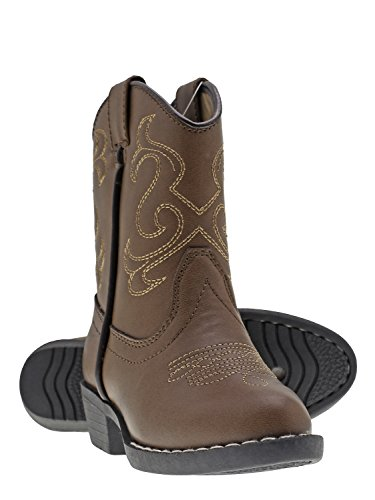 Canyon Trails Kids' Lil Cowboy Pointed Toe Classic Western Boots