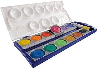 Pelikan Zestaw farb 12 735 K12 12 kryjących kolorów + 1 tubka białej kryjącej
