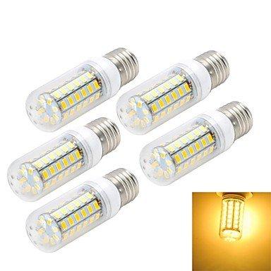 WELSUN Ampoule Maïs Blanc Chaud/Blanc Froid 1 pièce E26/E27 10 W 56 SMD 5730 800-1000 LM AC 100-240 V (Light Source Color : Blanc Chaud)