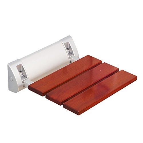 IAIZI Asiento del banco de la ducha Asiento plegable del baño Asiento del baño Asiento del baño Asiento del baño Asiento plegable del baño Ayuda a las personas necesitadas Aleación de aluminio Rojo